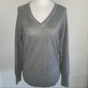Nike Grey Golf V-Neck Sweater M